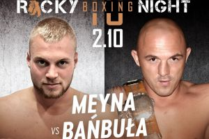 Kacper Meyna i Artur Bizewski powalczą na gali Rocky Boxing Night 10 w Kościerzynie
