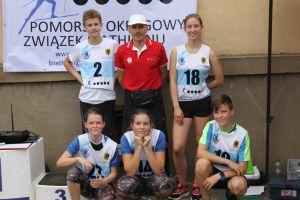 Bardzo dobry start zawodników Cartusii w IV rundzie Pucharze Pomorza w Biathlonie Letnim 2016