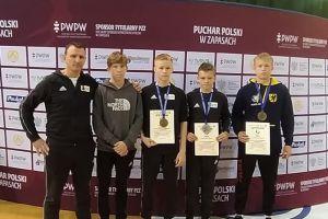 Zapaśnicy Moreny i Cartusii z medalami Pucharu Polski Kadetów w Radomiu