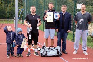 Marcel Puchalski zwycięzcą IV Turnieju Tenisa Ziemnego o Puchar Burmistrza Kartuz 2016 w Grzybnie