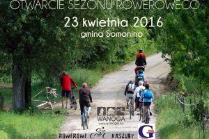 Otwarcie sezonu rowerowego 2016 w gminie Somonino. Całodniowa przejażdżka krajoznawcza z Kiełpina przez Ostrzyce do Somonina