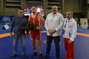 Andrzej Wroński został mistrzem świata weteranów w stylu wolnym. Podczas MŚ w Wałbrzychu 2016 sprawił sobie prezent na 51. urodziny