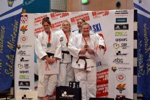 Anita Formela i Karolina Miller na podium Mistrzostwa Polski Seniorek i Seniorów w Judo 2016