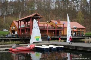 Otwarcie sezonu żeglarskiego 2016 w CSWiPR na Złotej Górze. Inauguracyjne regaty przy zmiennej pogodzie