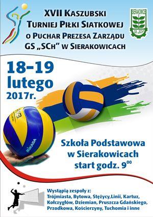 turniej siatkówki sierakowice