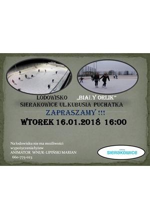 Lodowisko Sierakowice otwarcie 2018 SG