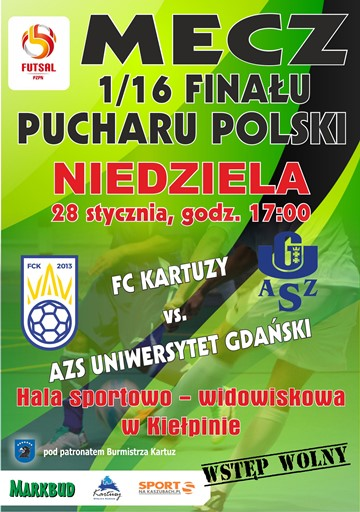 FC Kartuzy - AZS UG PB