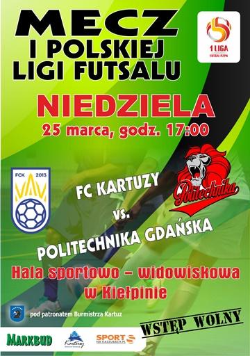 FC Kartuzy - Politechnika