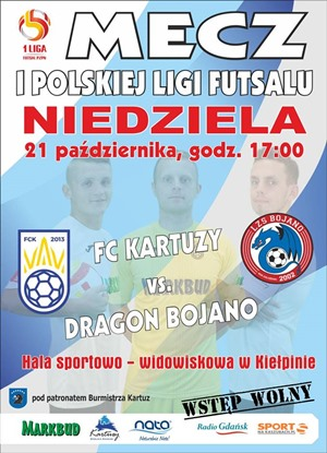 FC Kartuzy - Dragon Bojano
