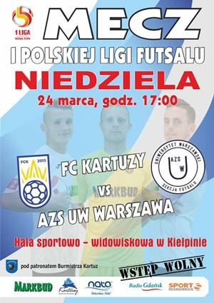 FC Kartuzy - AZS UW Warszawa