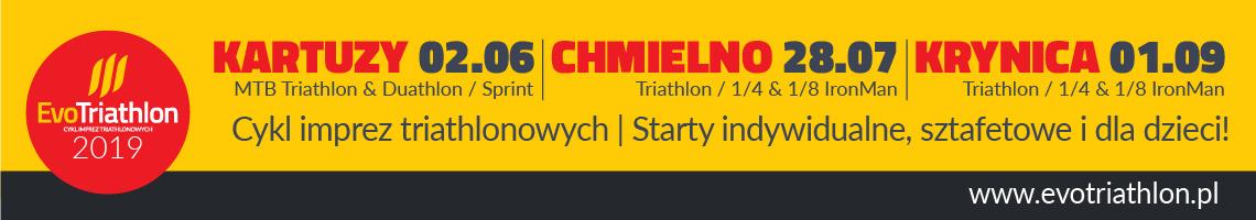 Triathlon Kartuzy i Chmielno 2019
